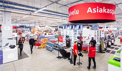 Pirkkalan myymälän asiakaspalvelupiste