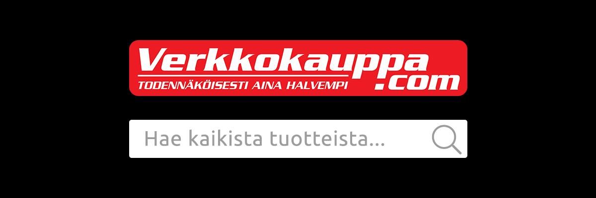 Verkkokauppa.com logo ja hakukenttä: Hae kaikista tuotteista