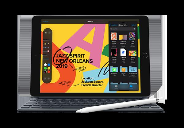 iPad-tabletti