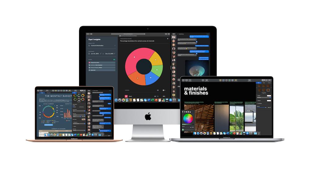 Apple Mac-kannettavia ja iMac