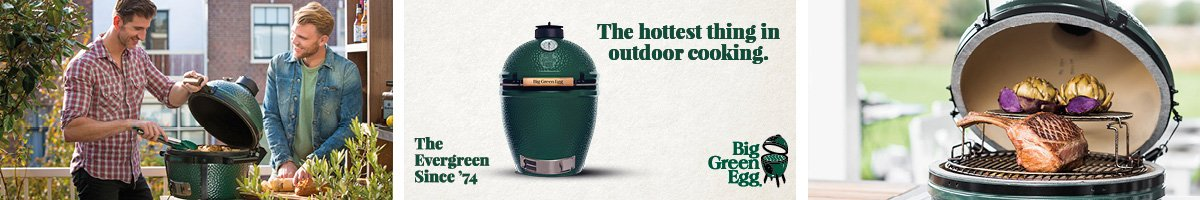 Big Green Egg - The hottest thing in outdoor cooking.