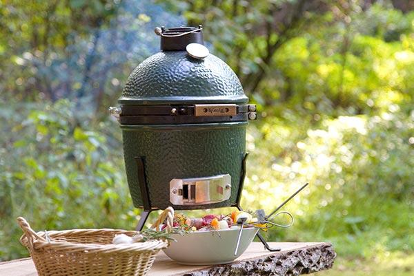 Big Green Egg -grilli ja herkkuja