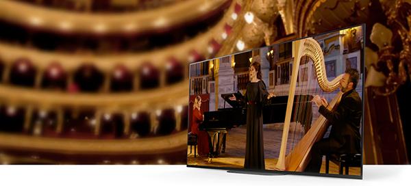 Sony-televisio ja klassinen konsertti