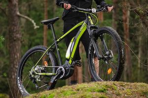 GZR-pyörä maastossa