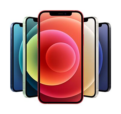 iPhone 12 -älypuhelimia