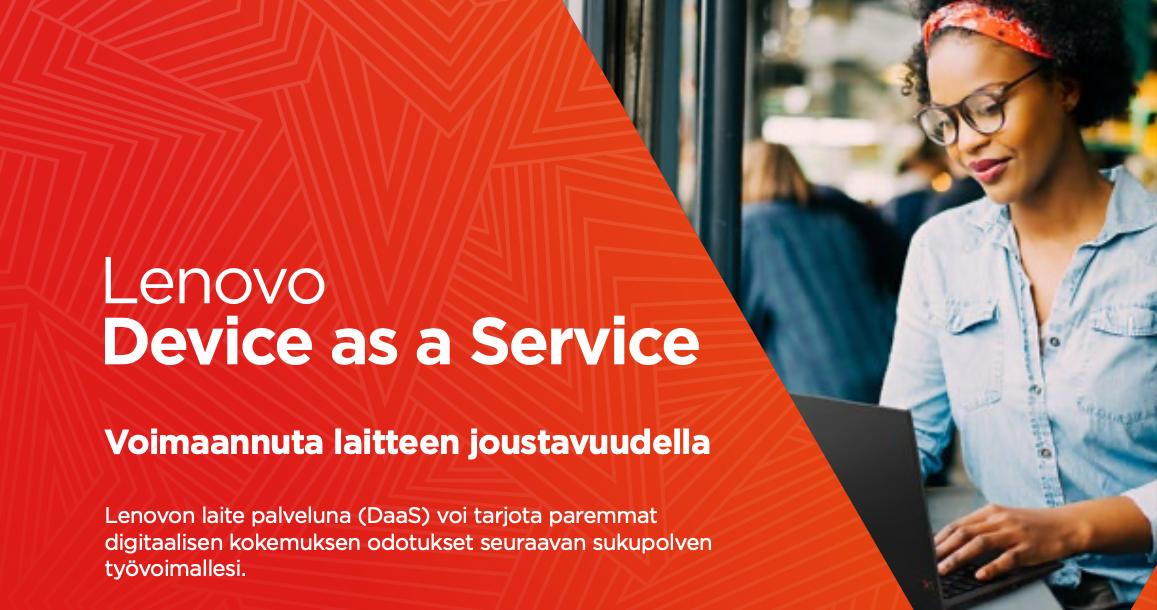 Lenovo Device as a Service daas