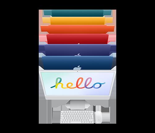 iMac-pöytäkone