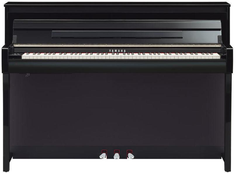yamaha clp 685 clavinova digitaalipiano kiilt v n musta. Black Bedroom Furniture Sets. Home Design Ideas