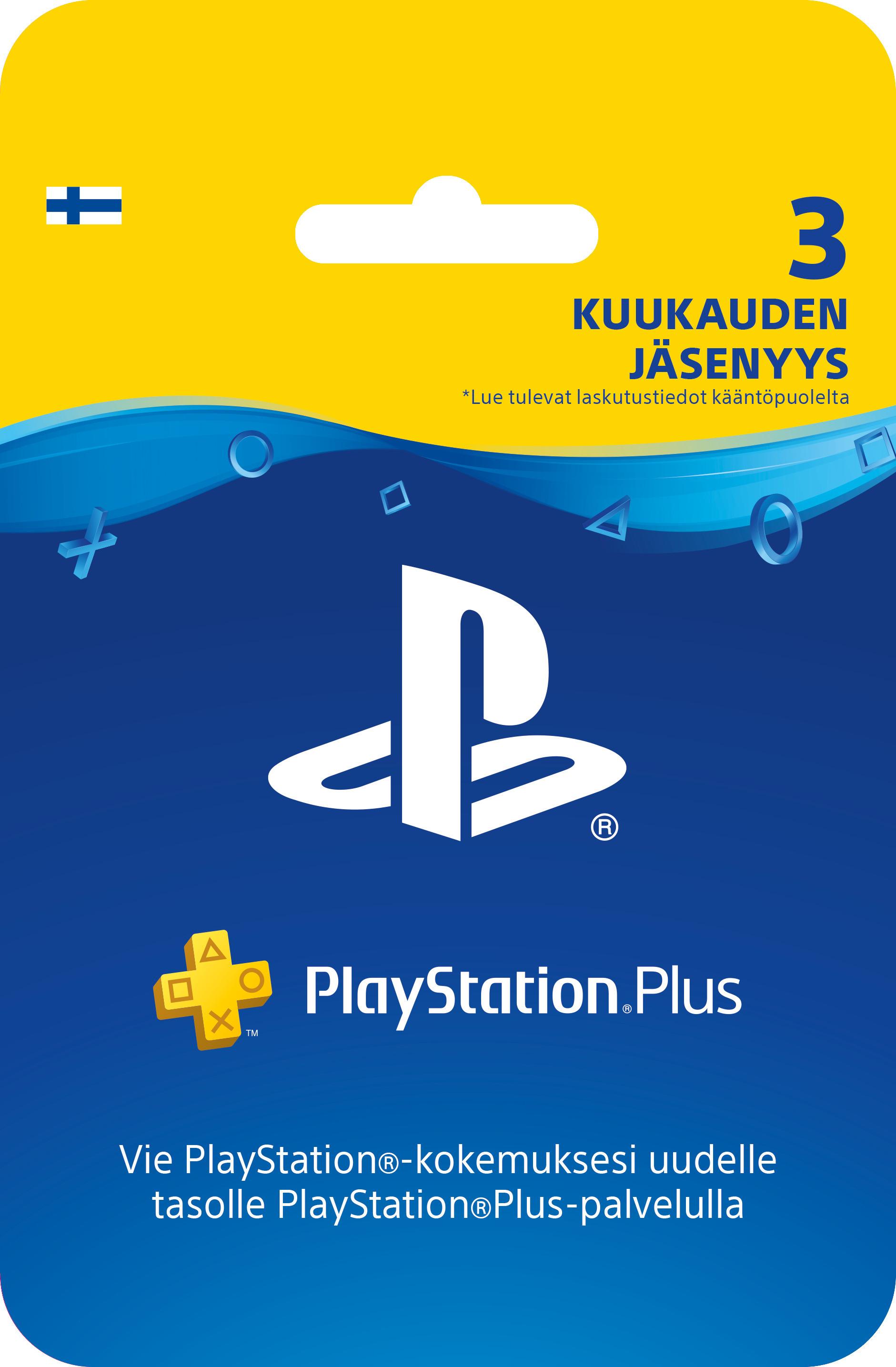 Playstation 4 plus jäsenyys hinta