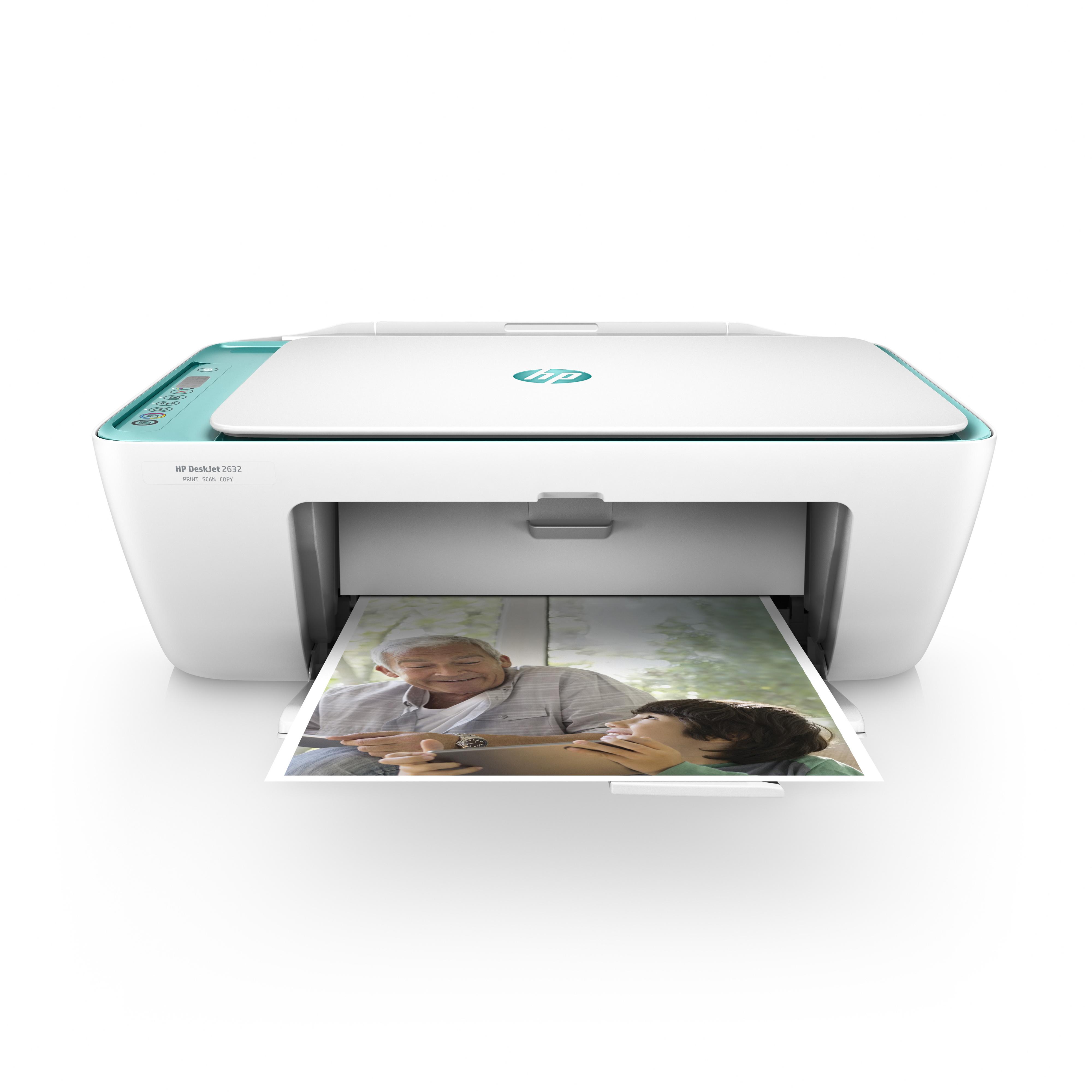 HP DeskJet 2632 All-in-One -monitoimitulostin - Monitoimi ...
