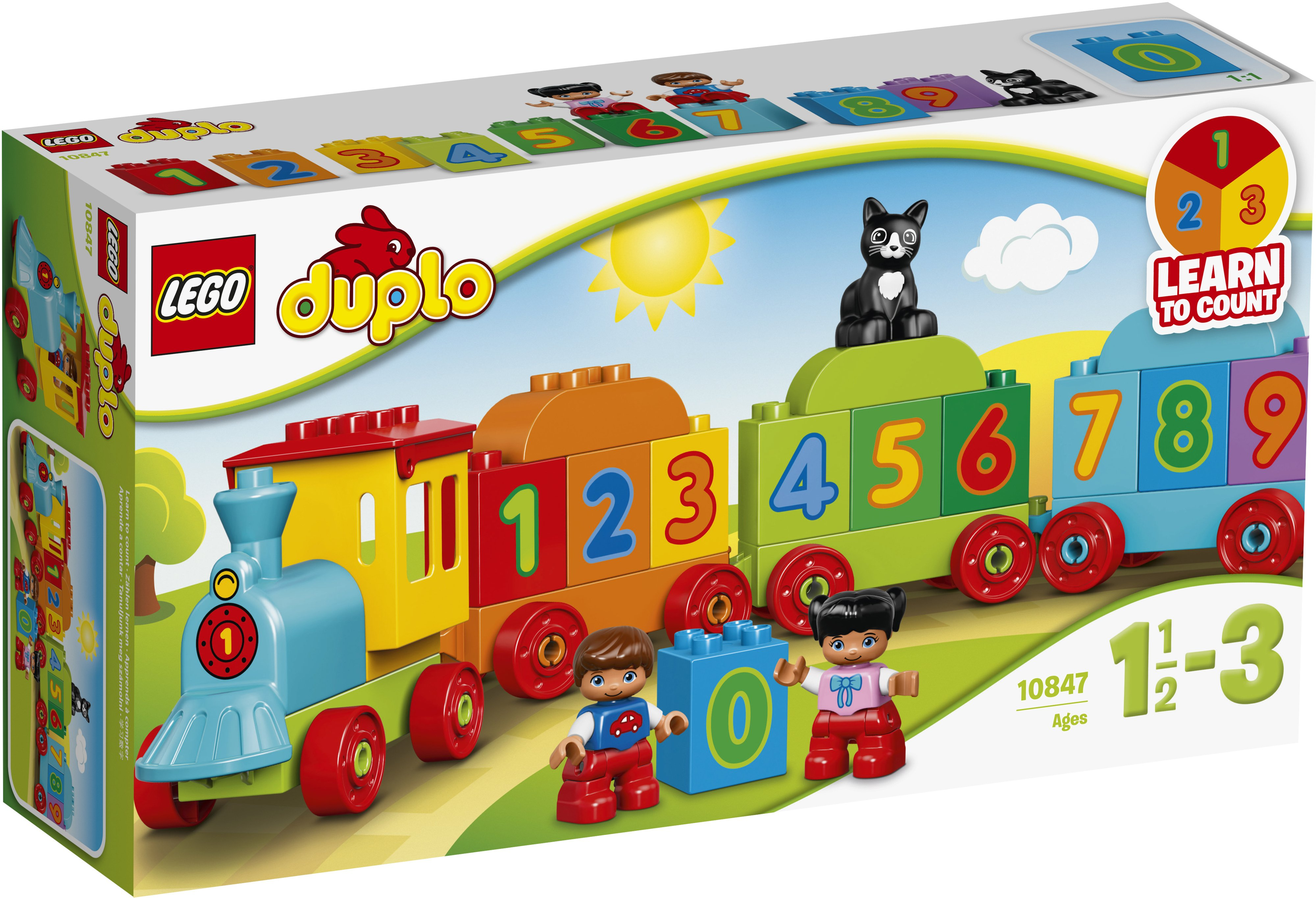 Lego Duplo My First 10847 Numerojuna Rakentaminen Vauvalelut