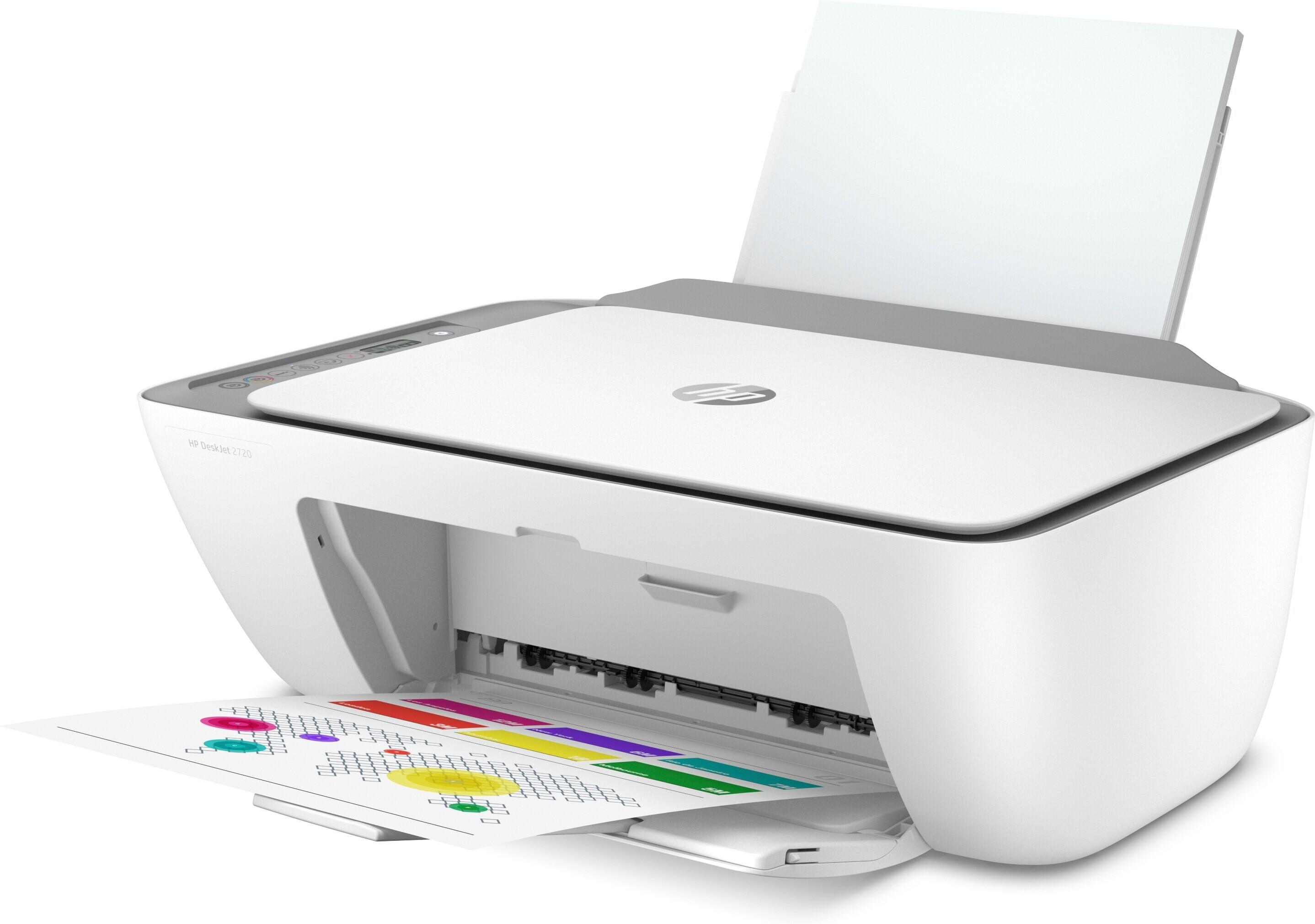 HP DeskJet 2720 All-in-One -monitoimitulostin – Monitoimi – Mustesuihkutulostimet – Tulostimet – Oheislaitteet – Verkkokauppa.com