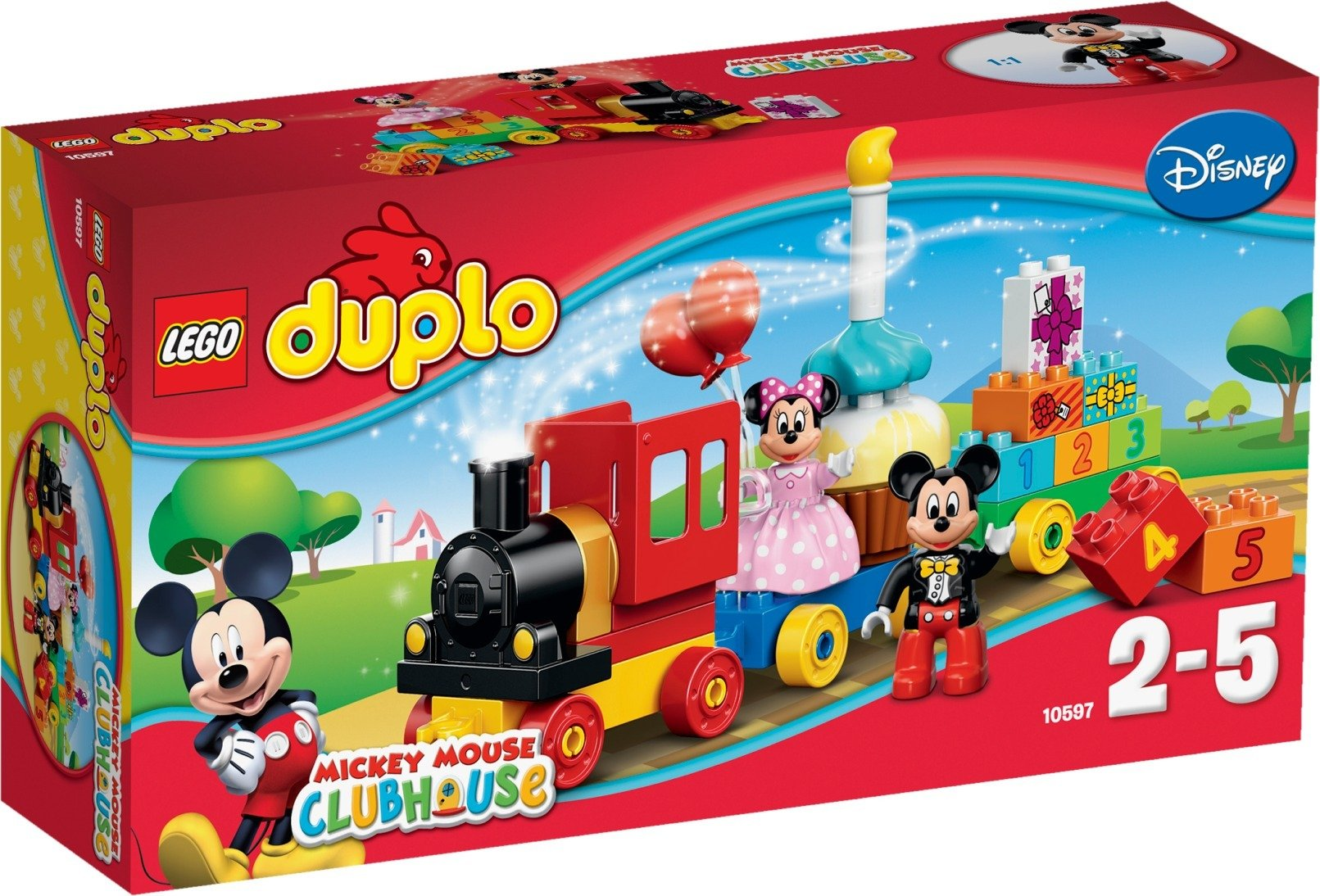 Lego Duplo Disney 10597 Mikin Ja Minnin Syntymäpäiväparaati