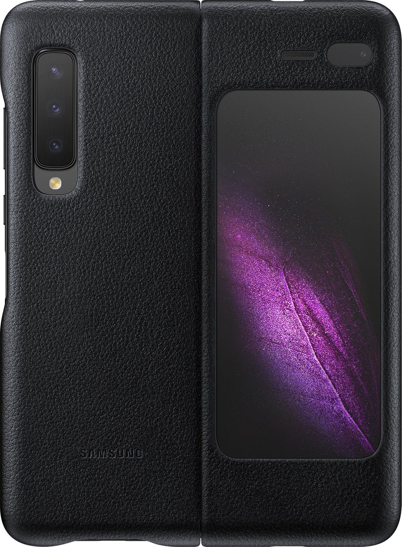 Samsung Galaxy Fold Leather Cover, musta – Suojakotelot / Samsung – Kotelot ja suojakuoret – Puhelimet – Verkkokauppa.com