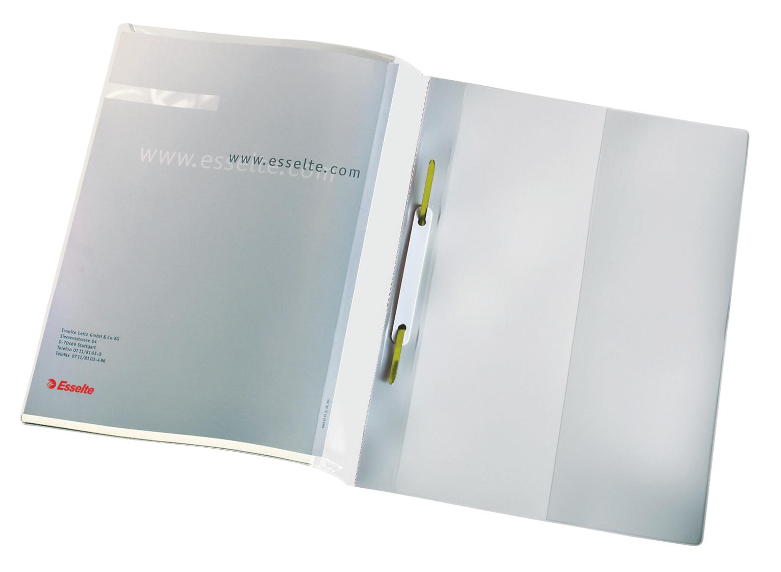 Esselte esitekansio, A4, 25 kpl, valkoinen – Pikanitojakansiot – Mapit ja kansiot – Tarvike ja ...