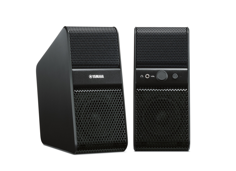 yamaha nx 50 aktiivikaiutinpari musta aktiivikaiuttimet kaiuttimet audio ja hifi. Black Bedroom Furniture Sets. Home Design Ideas