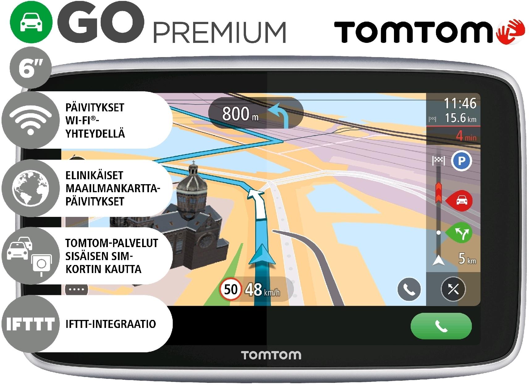 Tuotteen Tomtom Go 6 Premium 6 0 Navigaattori Kysymykset Ja