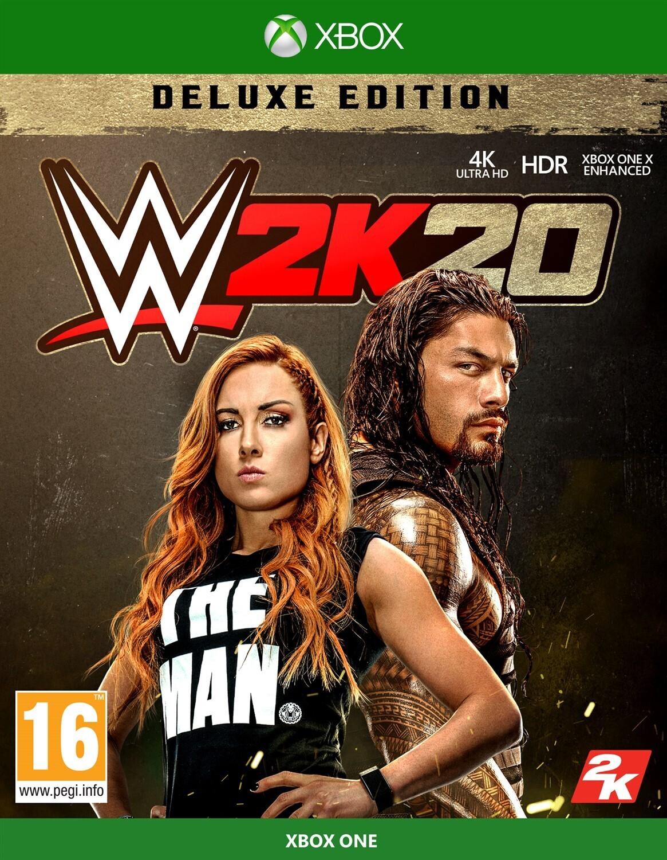 Wwe 2k20 Deluxe Edition Peli Xbox One Kamppailu Ja Matkinta