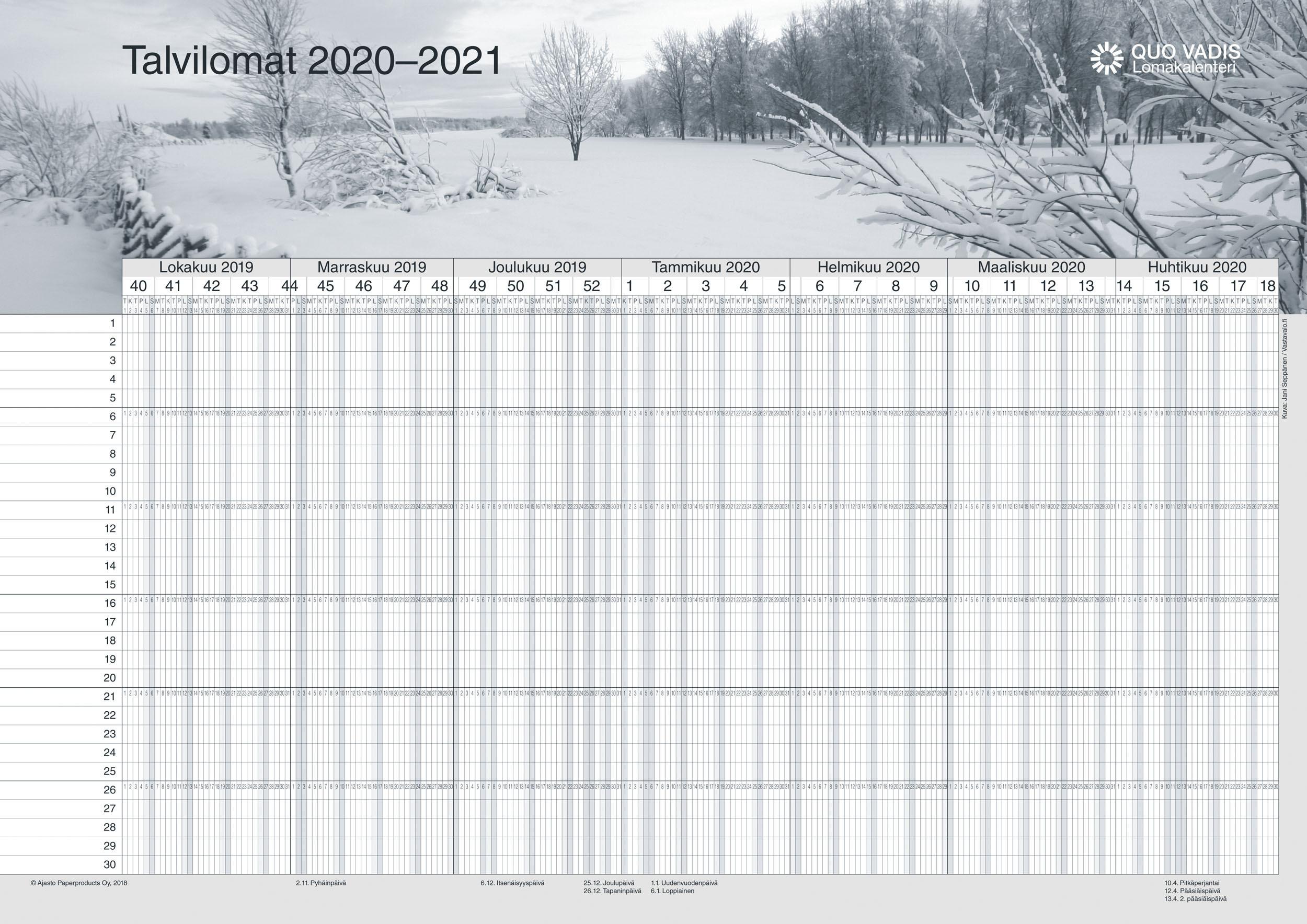 Talvilomat 2021