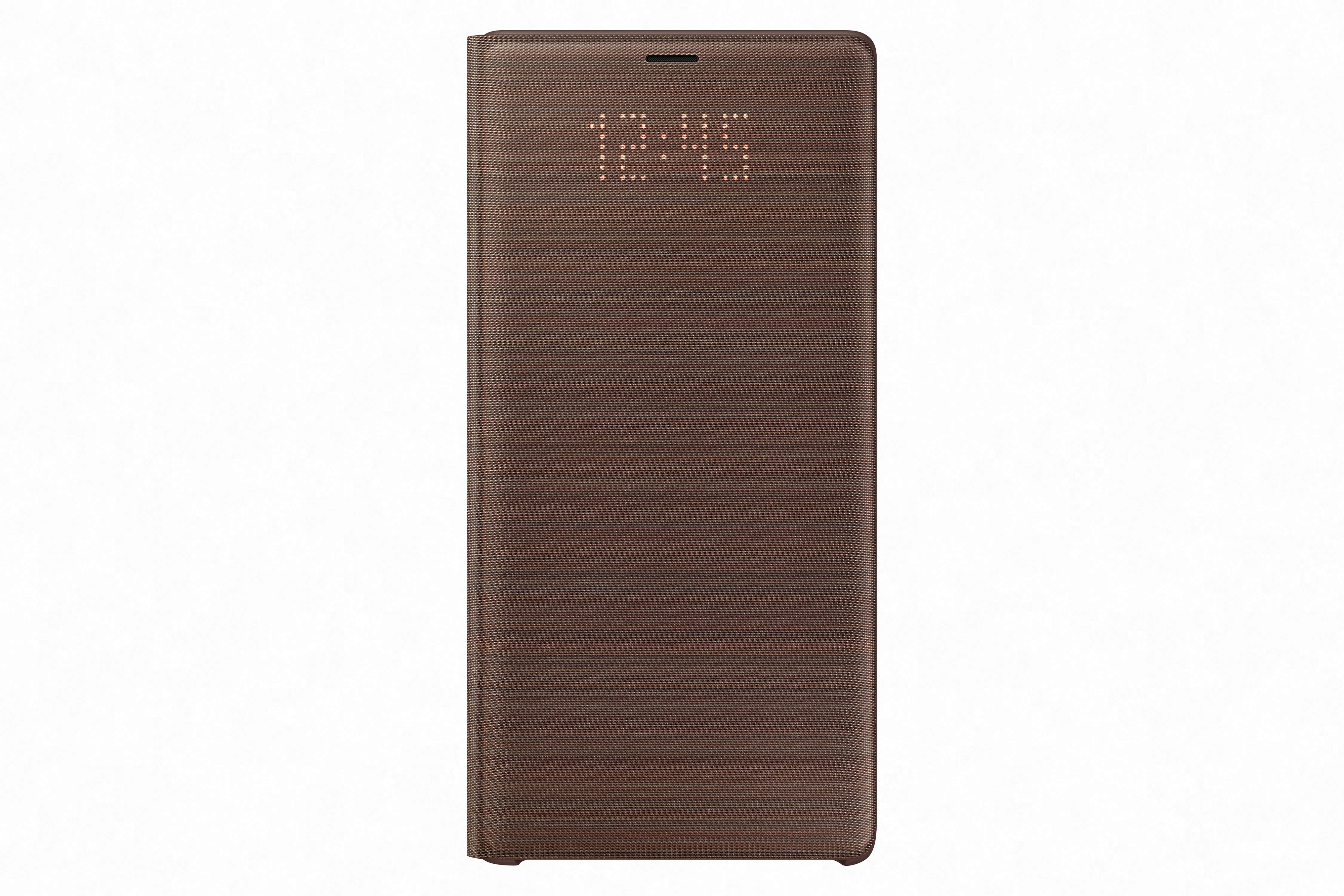 Samsung Galaxy Note9 Led View Cover Suojakotelo Ruskea For Brown Kannessa Informatiiviset Valot
