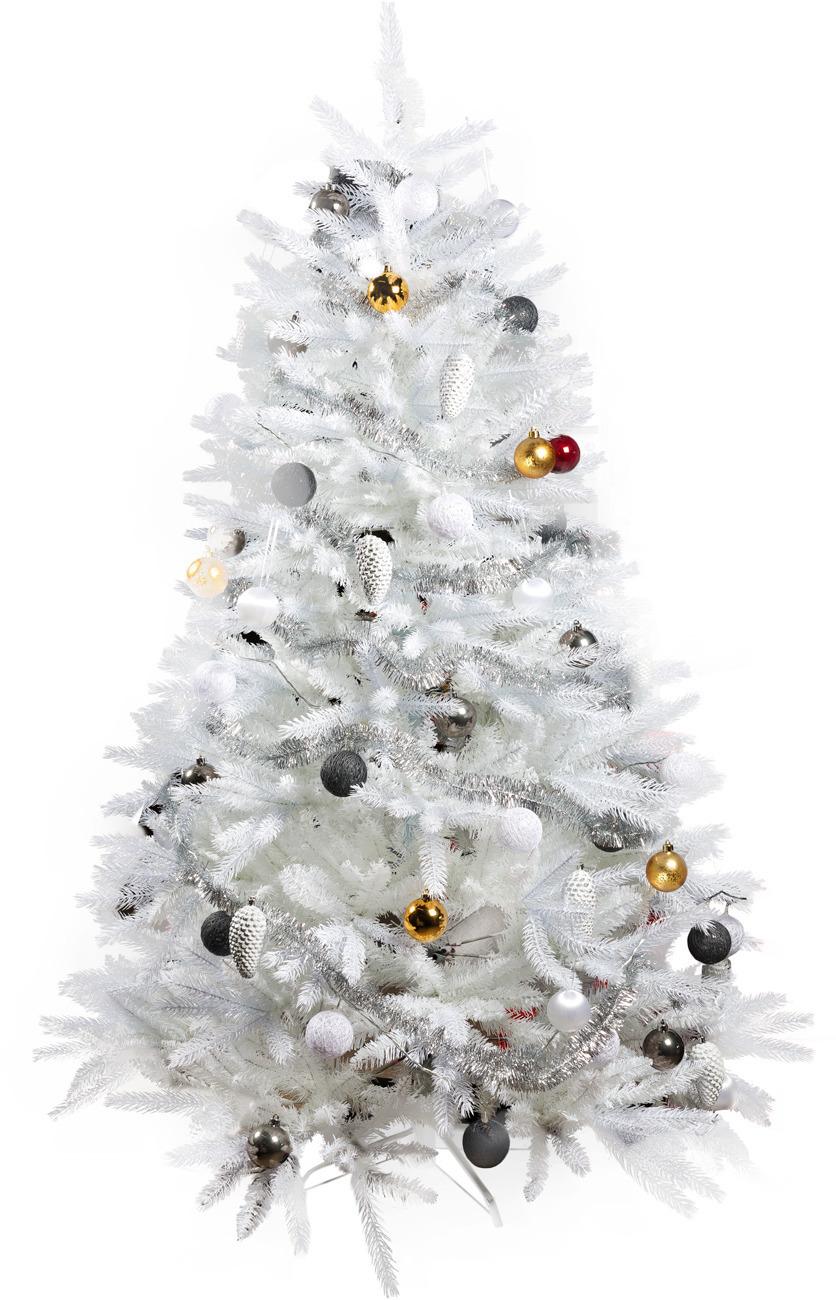 valkoinen joulukuusi Fano ‐joulukuusi, 180 cm, valkoinen – Muut – Sisustus ja  valkoinen joulukuusi