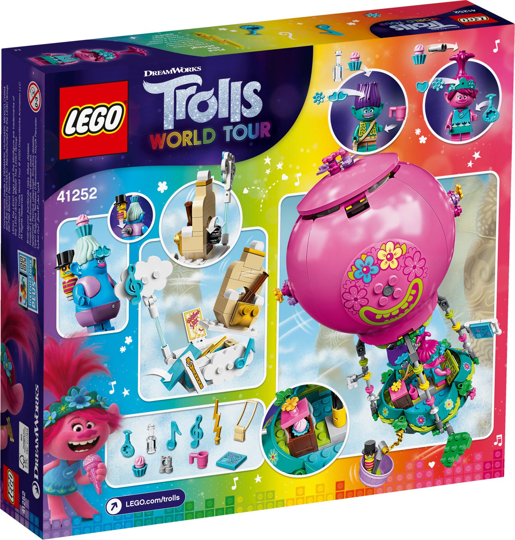 Lego Trolls 41252 Poppyn Kuumailmapalloseikkailu Lego Trolls
