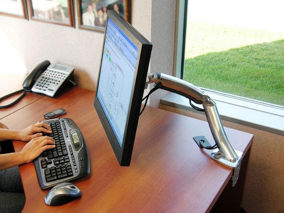 Ergotron Mx Desk Mount Monitorivarsi Monitorivarret