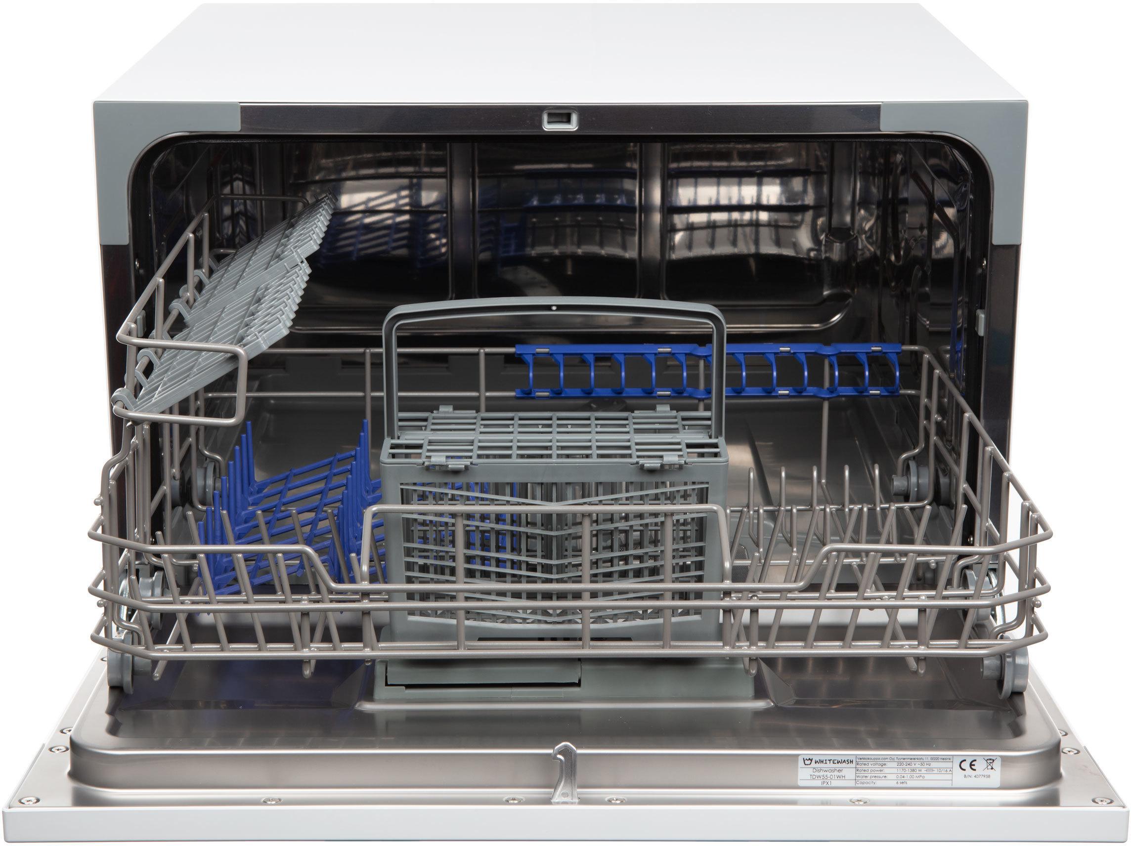 WhiteWash TDW55-01WH -astianpesukone, pöytämalli – Pöytämallit – Astianpesukoneet – Kodinkoneet ...