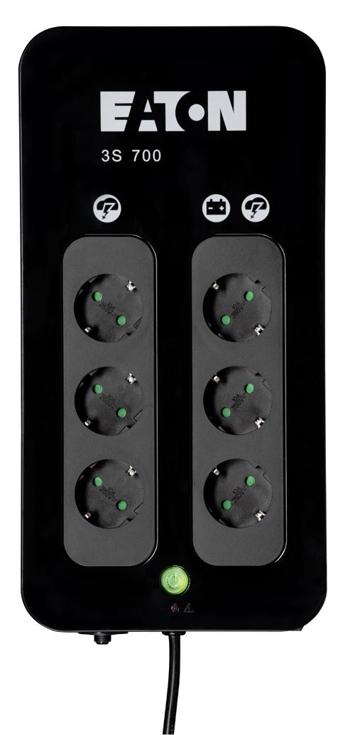 Eaton 3S DIN 700 VA UPS-ylijännitesuoja – UPS kotiin/pientoimistoon – Virransyöttö ...