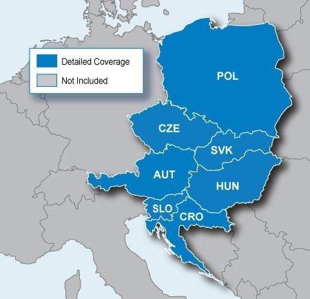 Garmin Ita Euroopan Tiekartasto Microsd Kartat Tarvikkeet